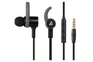 A4Tech HD Metallic Earphones With Mic MK-820 - Black/Grey