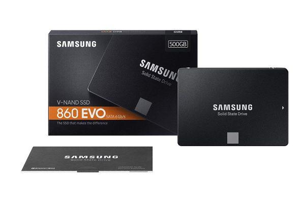 "Samsung EVO 860 2.5"" SATA III SSD - 500GB"