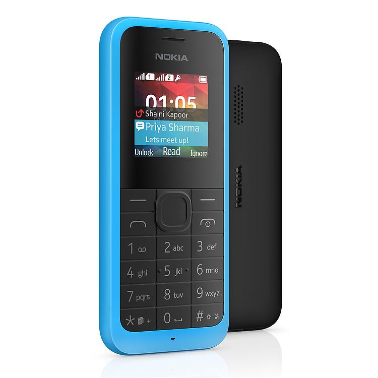 finest selection edb76 25c1c Nokia 105 Dual Sim