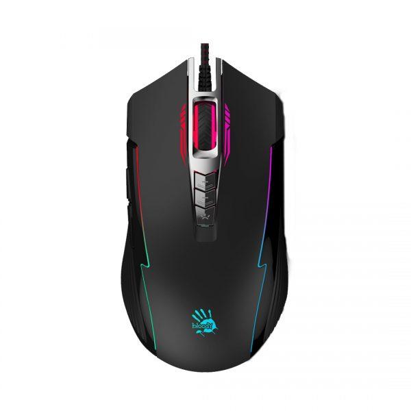 A4tech Bloody P93 Light Strike 5k RGB Animation Gaming Mouse - Black