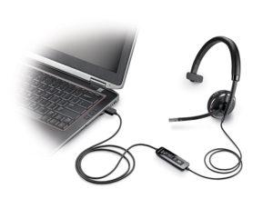 Plantronics Blackwire C510 Monaural USB Headset