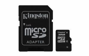 Kingston MicroSDHC Class 4 Memory Card - 32GB