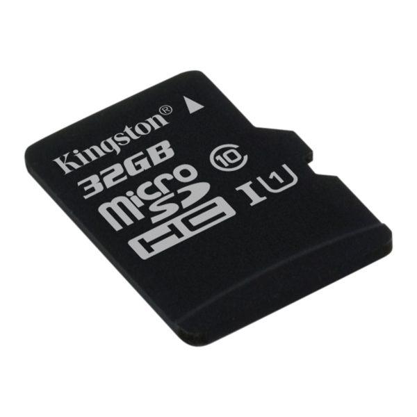 Kingston SDCS Canvas Select Class10 microSD Memory Card - 32GB