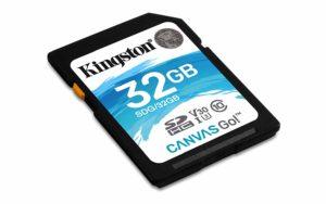 Kingston SDG Canvas GO SDHC Class10 Memory Card - 32GB