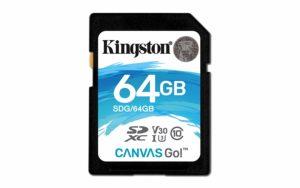 Kingston SDG Canvas GO SDHC Class10 Memory Card - 64GB