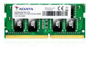 Adata Premier SO-DIMM DDR4 2400 16GB 260-Pin