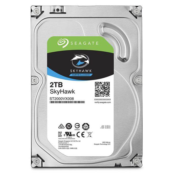 "Seagate SkyHawk 2TB Video Surveillance Hard Drive -  SATA 3.5"" 5900RPM, 64MB Cache"