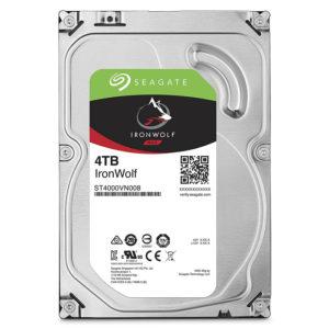 """Seagate Iron Wolf 4TB NAS SATA (5900 RPM 6GB/S 64MB CACHE 3.5"""")"""