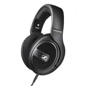 Sennheiser HD 569 Around Ear Headphones with Inline mic (Black)