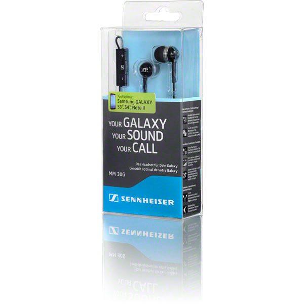 Sennheiser MM 30G In-Ear Headset (Black)