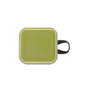 SkullCandy Barricade Mini Bluetooth Wireless Portable Speaker - Gray/Hot Lime