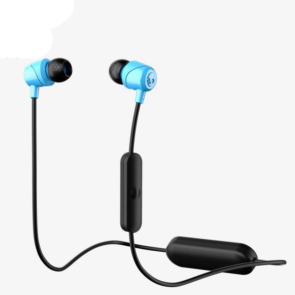 SkullCandy Jib In-Ear Wireless Headphones with Mic - Blue