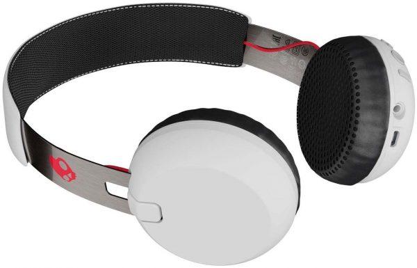 Skullcandy Grind Bluetooth Wireless Headsets - White