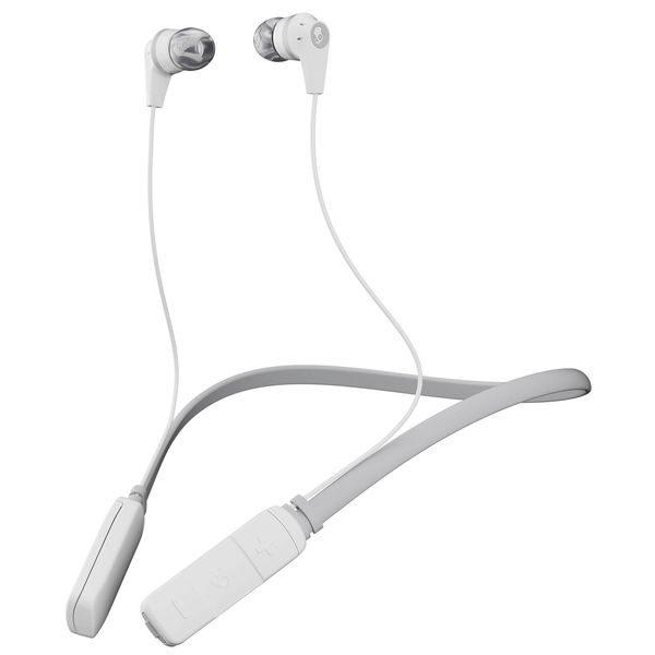 Skullcandy Ink'd Wireless Earphones - White/Gray