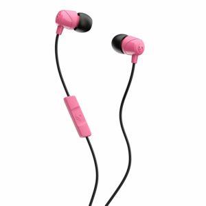 Skullcandy JIB In-Ear Ear Buds with Mic - Pink/Black