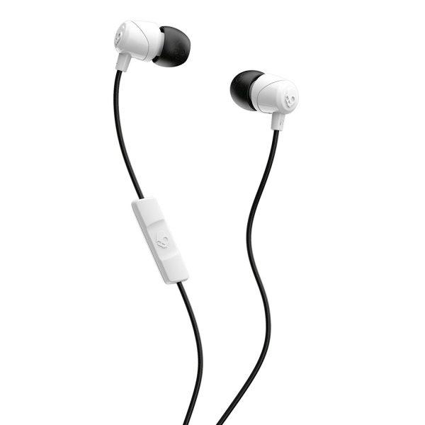 Skullcandy JIB In-Ear Ear Buds with Mic - White/Black