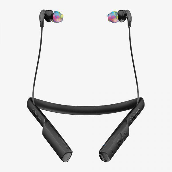 Skullcandy Method Bluetooth Wireless Earphones with mic - Black/Gray