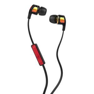 Skullcandy Smokin Buds 2 In-Ear Headphones with Mic - Spaced Out Iridium/Black