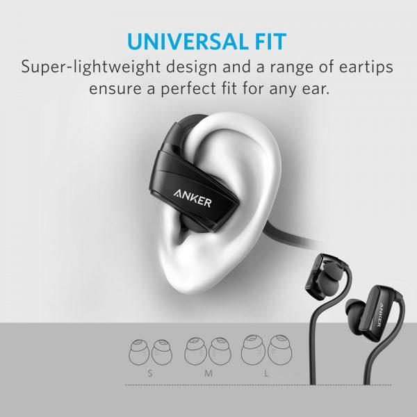 Anker SoundBuds NB10 Bluetooth Headphone - Black
