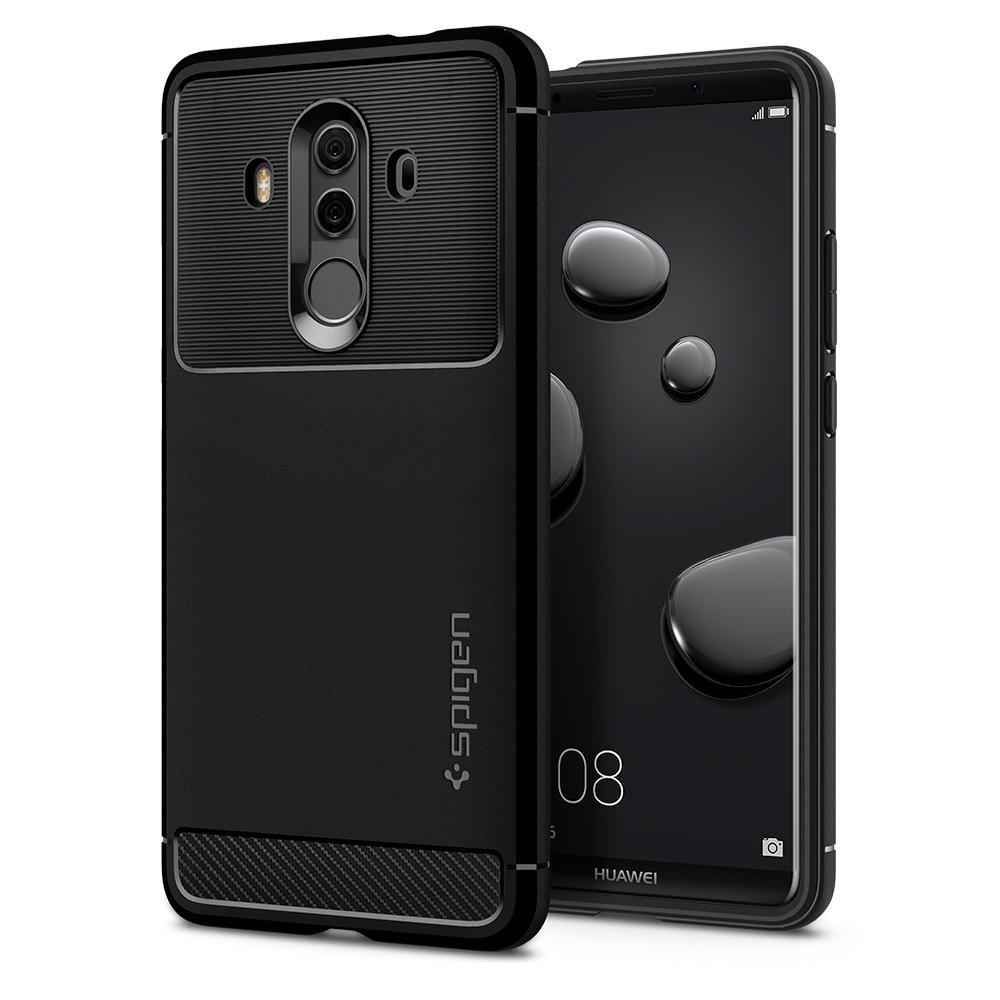 online retailer 6709c 26e9c Spigen Huawei Mate 10 Pro Case Rugged Armor - Black