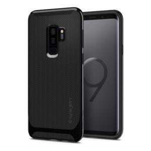 Spigen Samsung Galaxy S9 Plus Case Neo Hybrid - Shiny Black