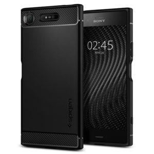 Spigen Sony Xperia XZ1 Case Rugged Armor - Black