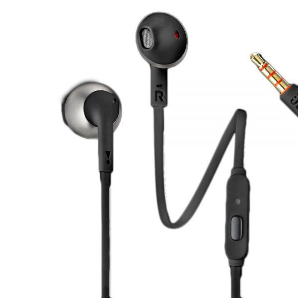 JBL T205 Earbud Headphones - Black