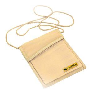 Travel Blue RFID Neck Wallet