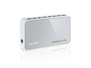 TP-Llink TL-SF1008D 8-Port 10/100Mbps Desktop Switch