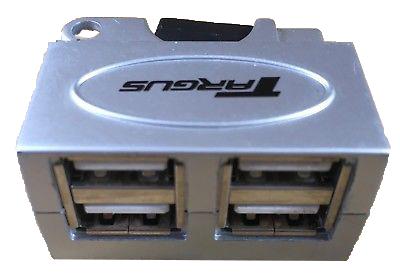 Targus 4-Port USB 2.0 Micro Travel Hub