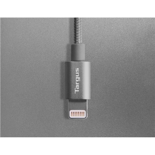 Targus Aluminium Series Lightning to USB Cable - Black
