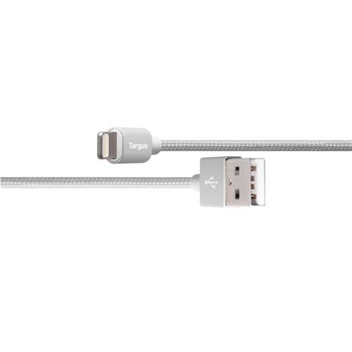 Targus Aluminium Series Lightning to USB Cable - Silver
