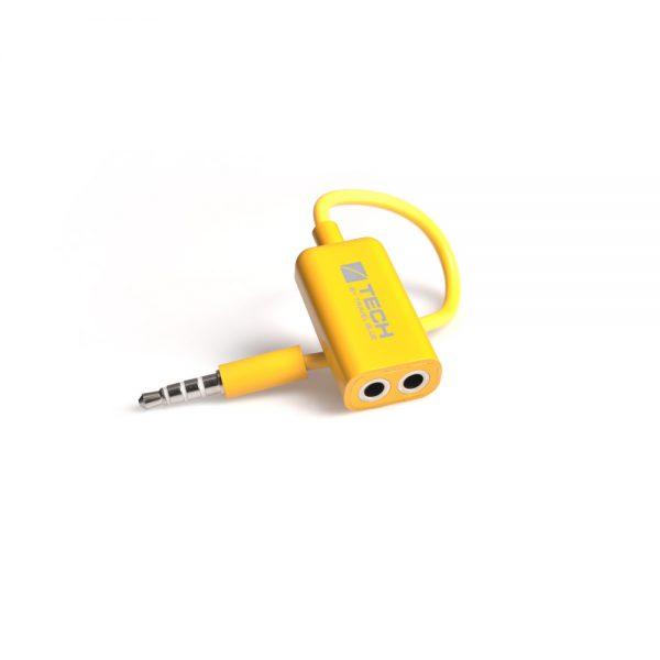 Travel Blue Headphone Dual Audio Splitter