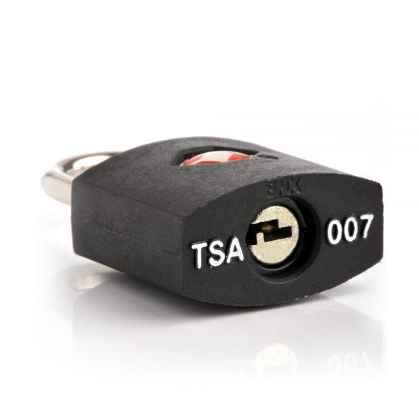 Travel Blue TSA Approved Suitcase Padlock - Black