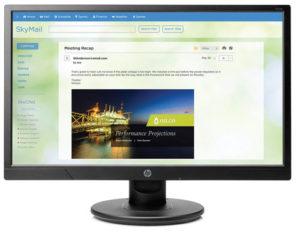HP V214b 20-inch LED Monitor
