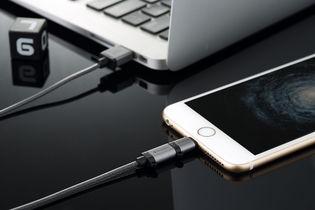 Verbatim 120cm Metallic 2-in-1 Cable - Black