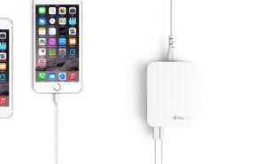 Verbatim 6 Ports USB Charger White