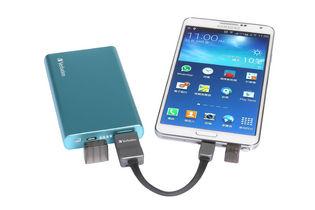 Verbatim OTG Cable for microSD card (Charging & Sync) - Black/Grey