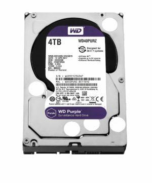 Western Digital Purple Surveillance Hard Drive - 4TB