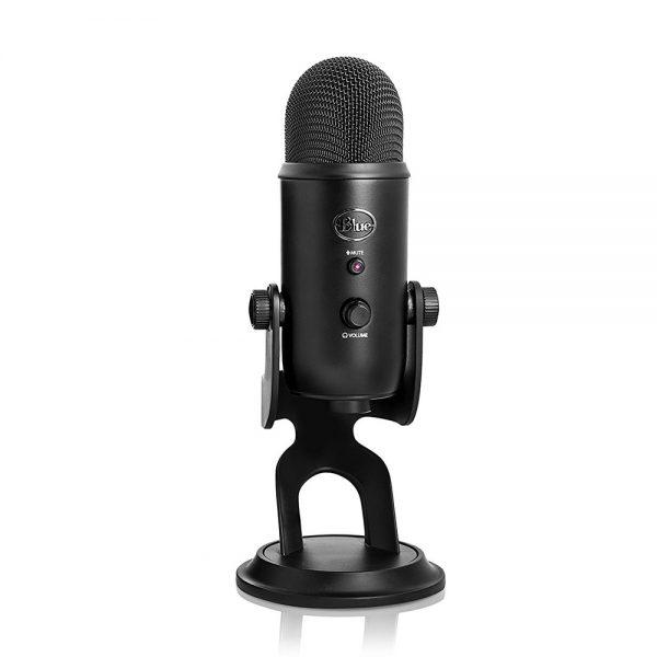 Blue Yeti Professional Multi-Pattern USB Microphone - Blackout
