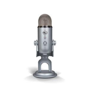 Blue Yeti Professional Multi-Pattern USB Microphone - Silver