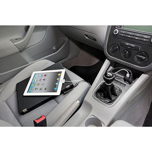 Targus Car Charger for Laptop & USB Tablet 90 Watt