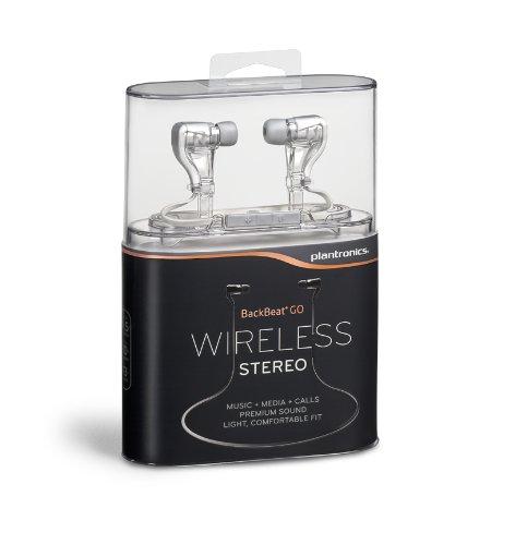Plantronics BackBeat GO Wireless Earbuds (White)