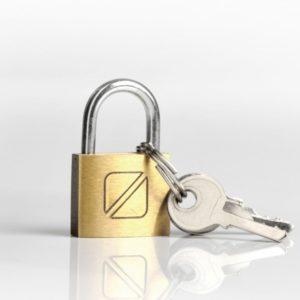 Travel Blue Security Padlock
