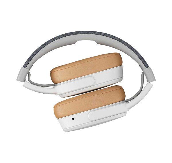 Skullcandy Crusher Wireless Headphones with Microphone - Gray/Tan