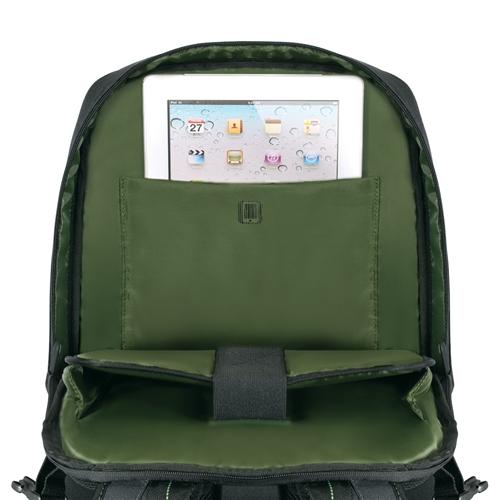 "Targus 16"" EcoSmart Emerald Green Backpack"