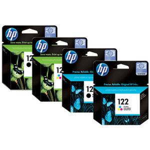 HP 122 Tri-colour Ink Cartridge (CH562HE)