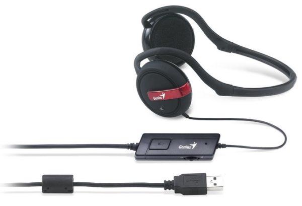 Genius HS-300U Digital PC Gaming Rear Band Headset