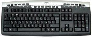 A4Tech KR-86 USB Keyboard