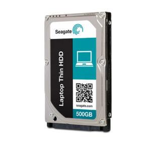 Seagate Momentus Thin Hard Drive 500GB (SATA II, 5400RPM, 16MB Cache)